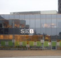 AB SEB BANK, EUROPOS SQUARE 1A, VILNIUS