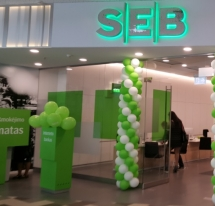 """(Lithuanian) AB SEB BANKO PATALPOS, PC """"PANORAMA"""", SALTONIŠKIŲ G. 9 VILNIUS"""