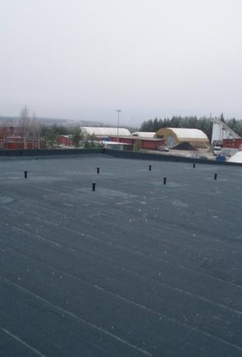 Terasų bei stogų hidroizoliacijos įrengimas